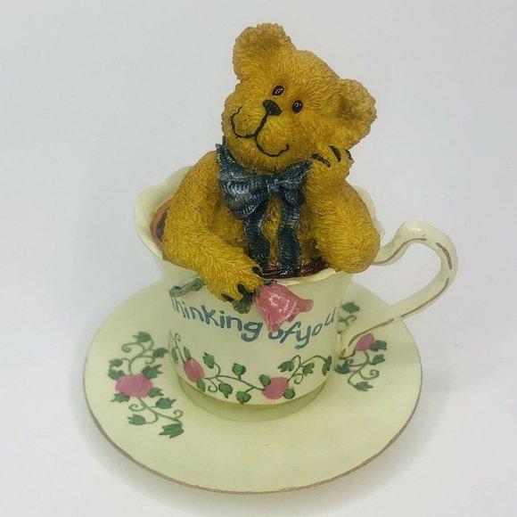 Boyds Bear Teabearies Wink Teabearie Thinking of u